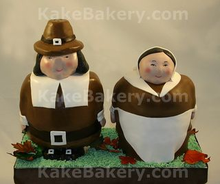 Thanksgiving-3d-Pilgrim-Cake