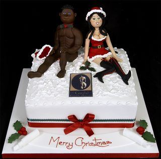 002889 Christmas Cake for the Guild of Erotic Artists